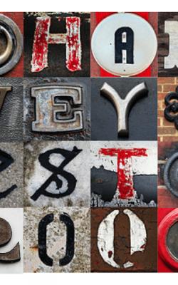 Mosaic Name Art