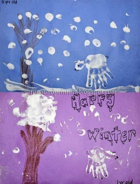 handprint-winter-art