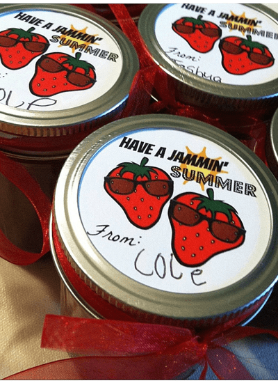 Have a Jammin' Summer Printable Labels