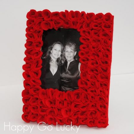 Red Rose Picture Frame