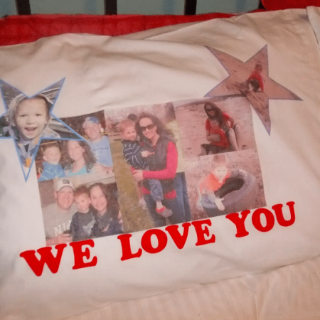 Picture Collage Pillow