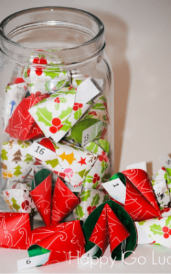 Christmas Countdown Fortune Cookies