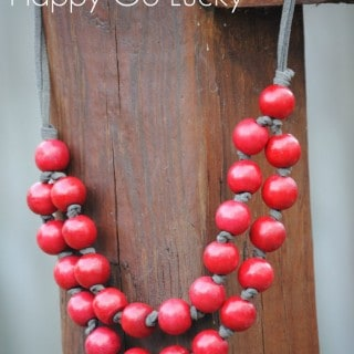 Pinterest Inspired Jewelry – Easy Necklace Tutorial