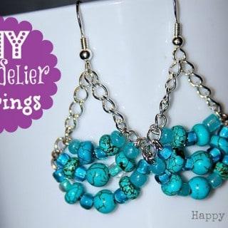 DIY Chandelier Earrings {Inspired by Pinterest}