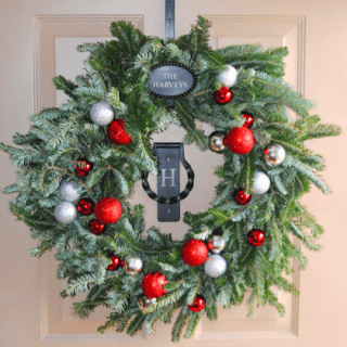 Ornament Wreath – Pottery Barn Knockoff