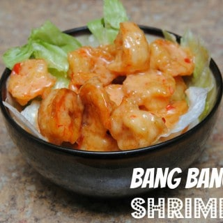 Bang Bang Shrimp {Pinterest inspired recipe}