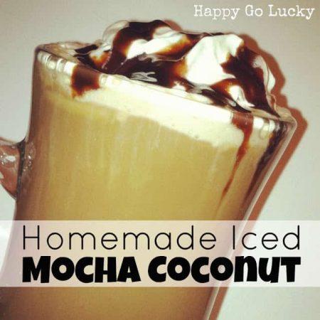 One Iced Mocha Coconut Comin' Right Up!