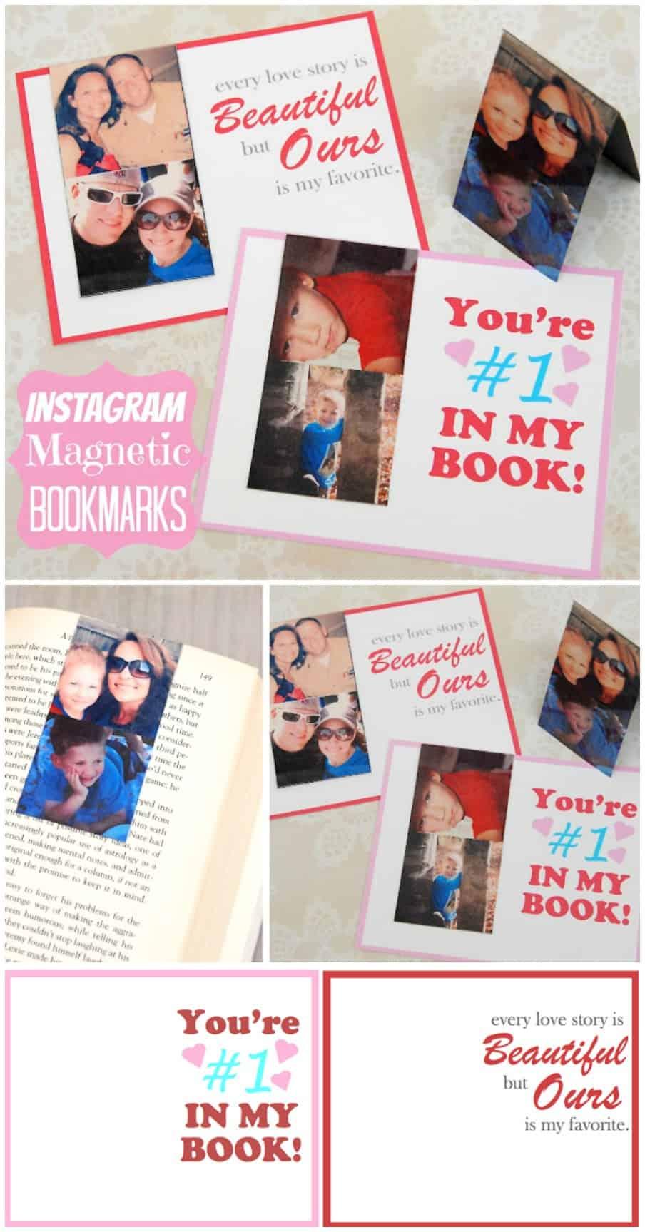 Instagram Magnetic Bookmarks