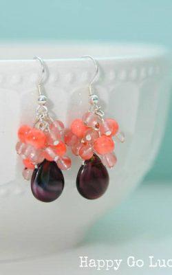 Color Block Earrings