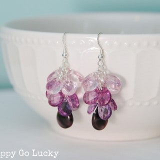 Handmade Jewelry – Ombre Earrings {with a giveaway}