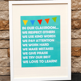 In Our Classroom… {Free Printable}