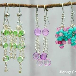 Earrings with Martha Stewart Jewelry