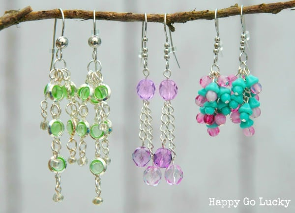 earrings with martha stewart jewelry happy go lucky