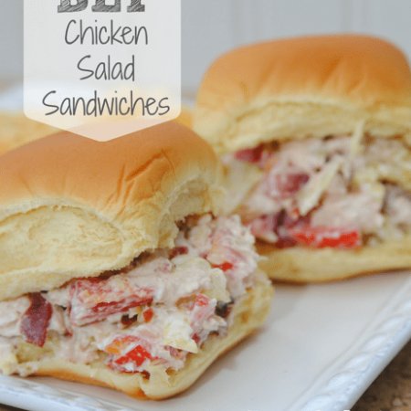 BLT Chicken Salad Sandwiches