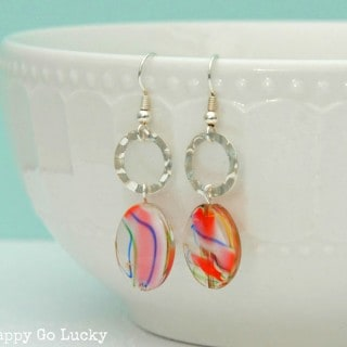 15 Minute Handmade Earrings {with a giveaway}