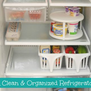 My Clean and Organized Refrigerator