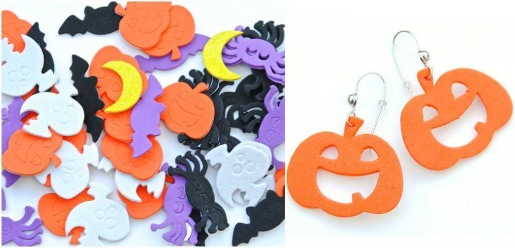 Halloween Foam Earring Supplies