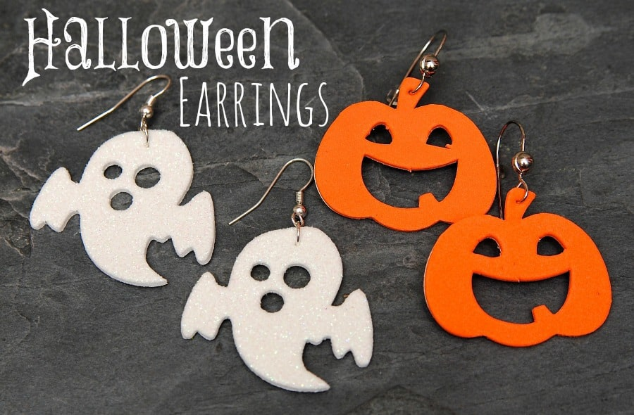 Halloween Foam Earrings