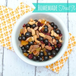 Homemade Trail Mix with Brookside Chocolate