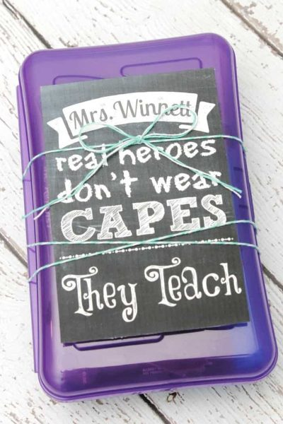 Real Heroes Teach Gift Box