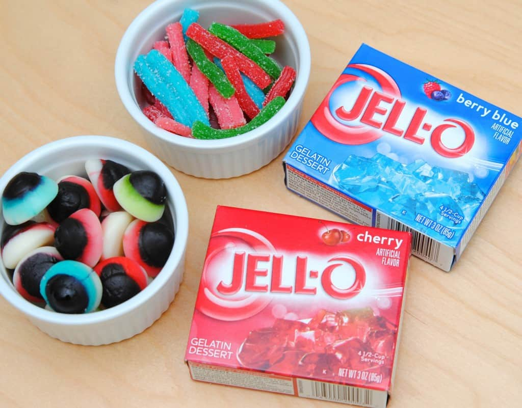 Monster JELL-O JIGGLERS Supplies