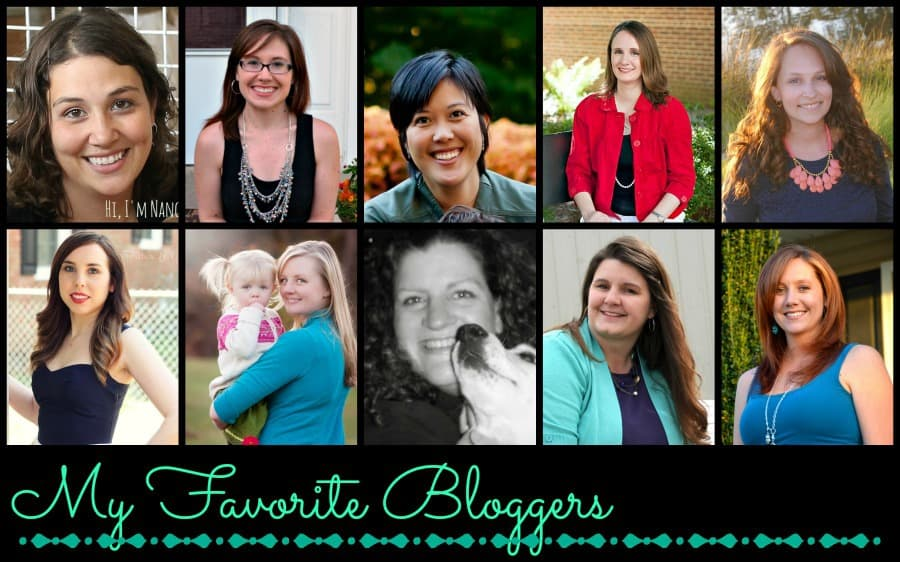 My favorite bloggers 10-13
