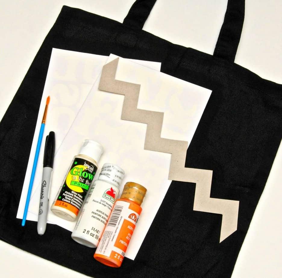 halloween bag supplies