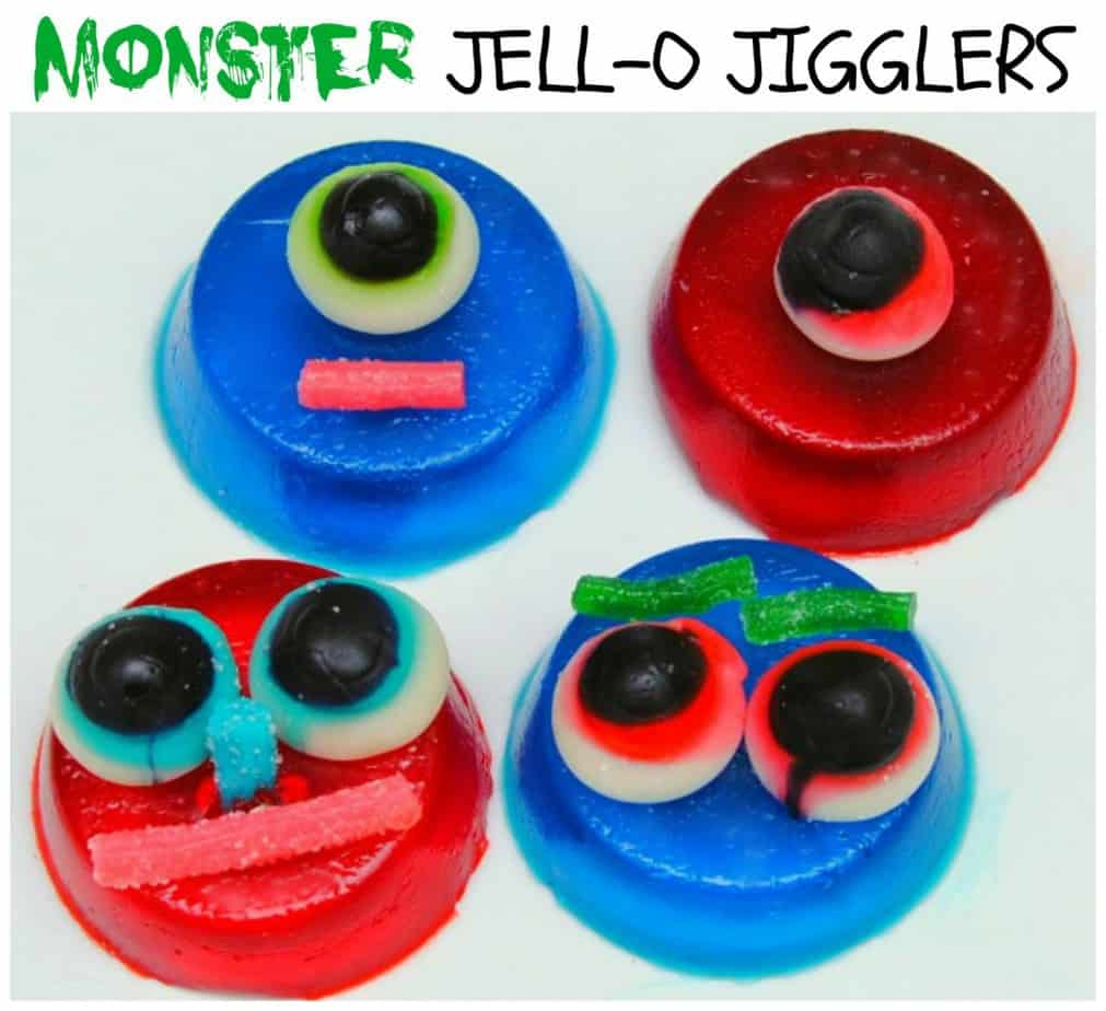 Monster JELL-O JIGGLERS