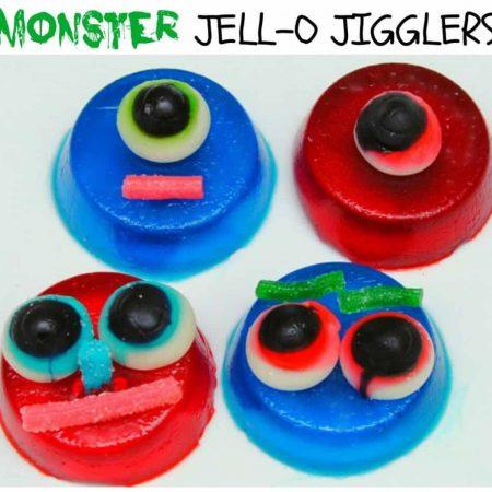 Monster JELL-O Jigglers