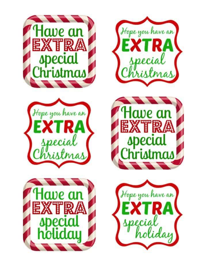 photo about Extra Gum Teacher Appreciation Printable identified as Very simple Present Thought with Far more Gum #GiveExtraGum