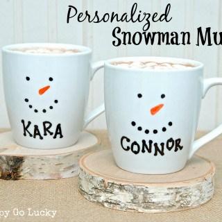15 Minute Holiday Mugs