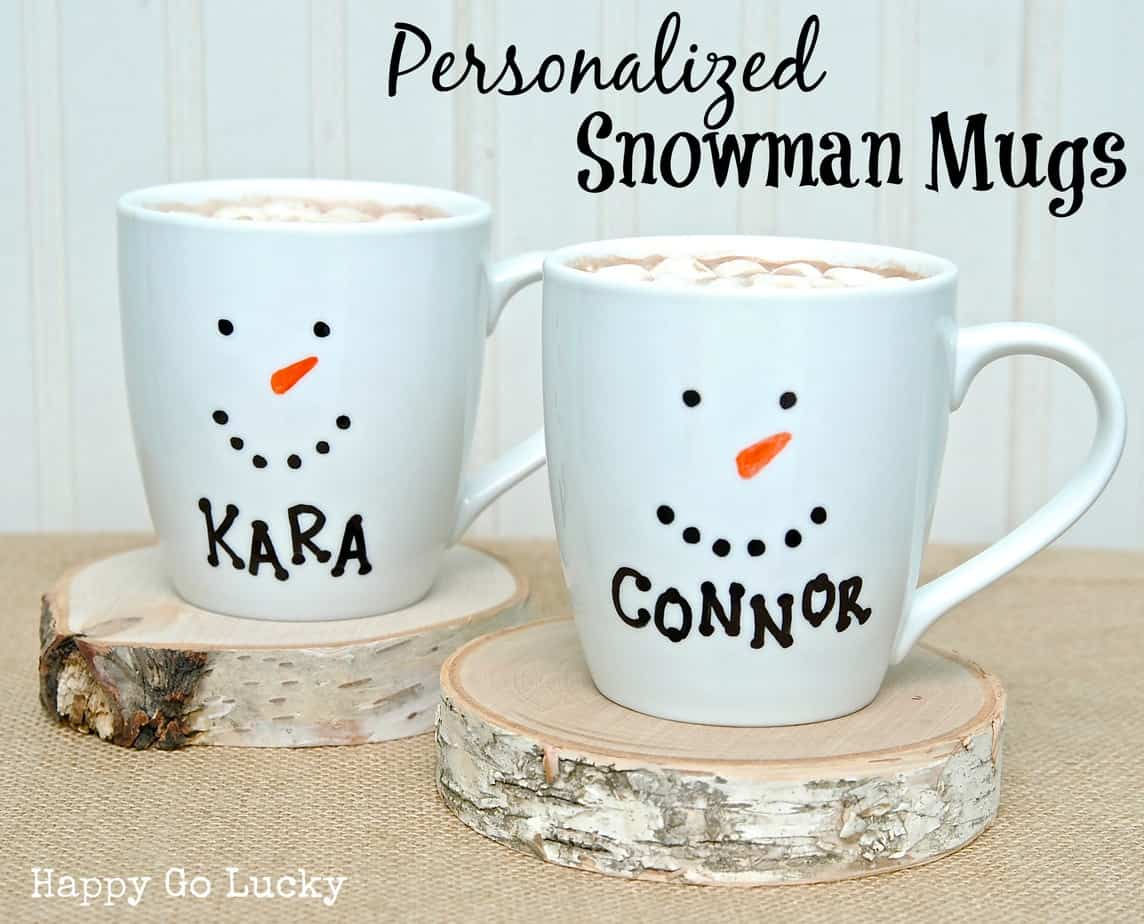 15 Minute Holiday Sharpie Mugs