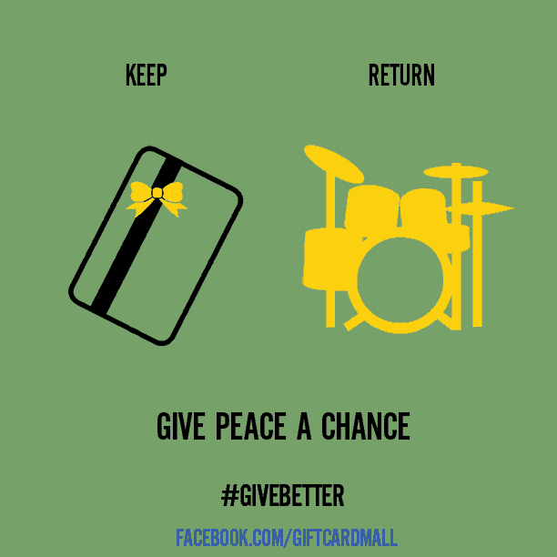 #GiveBetter Gift Card Mall