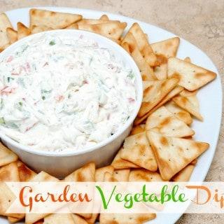 Garden Vegetable Dip