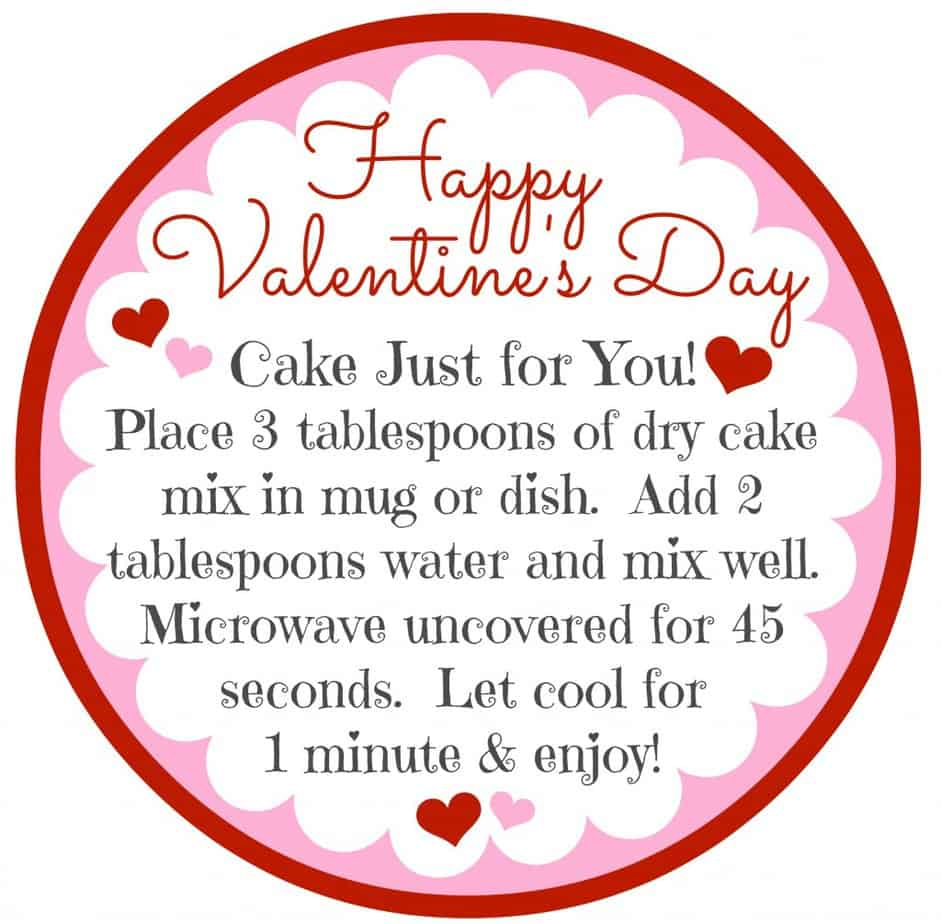 Valentine's Day Gift - Cake for One