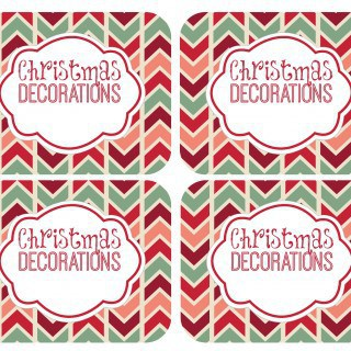 Organizing and Storing Christmas Decorations {and a $300 Amazon Gift Card Giveaway}