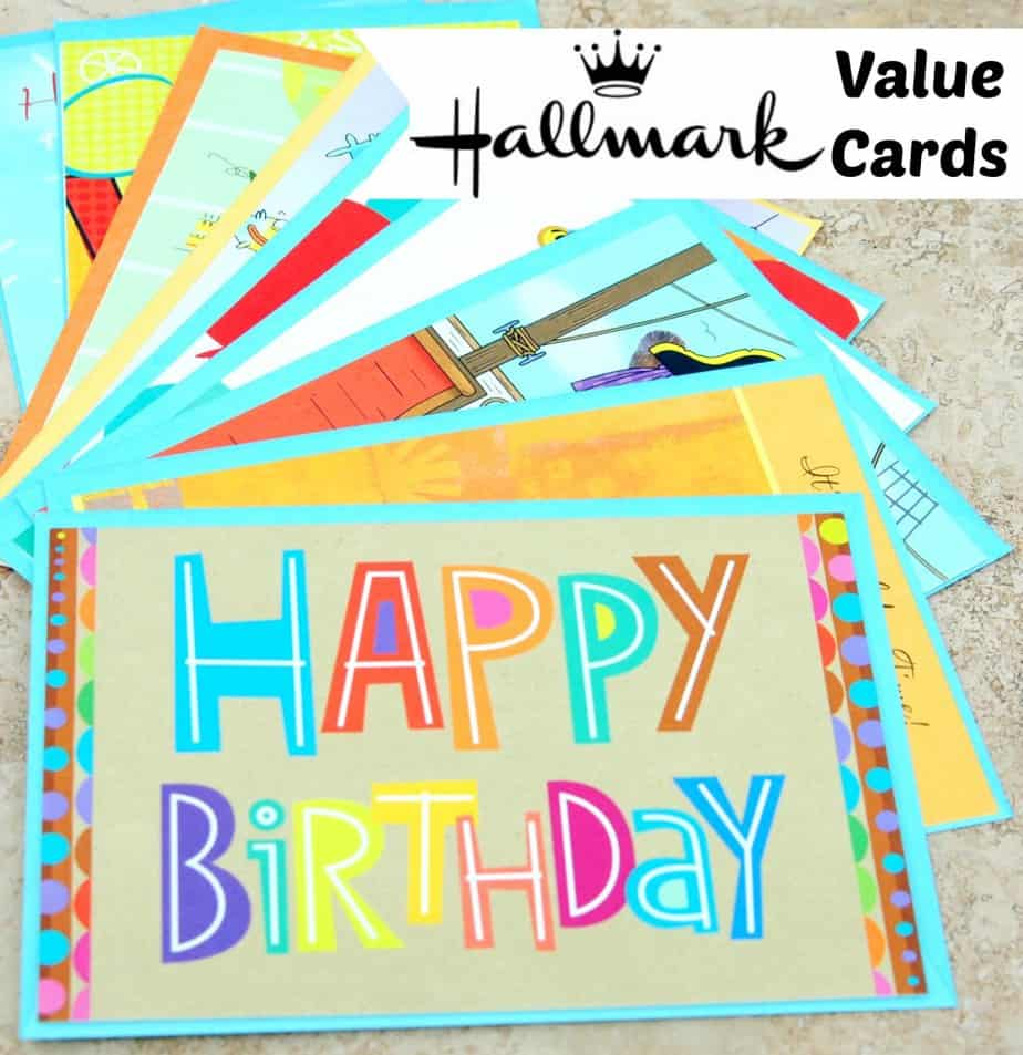 Hallmark Value Cards ValueCards – Happy Birthday Card Hallmark