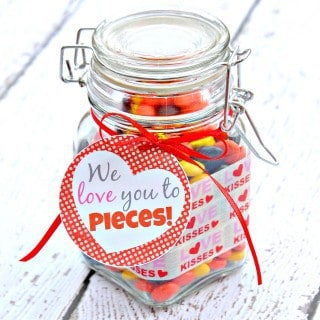 We Love You to Pieces! Gift in a Jar