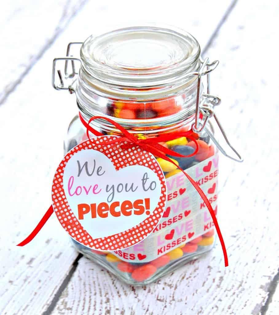 Valentine's Day Gift in a Jar