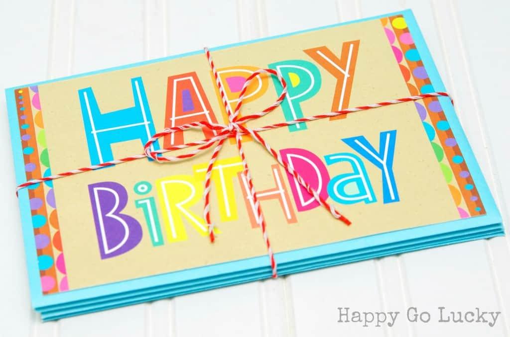 Birthday Card Accordion - Birthday Gift Idea