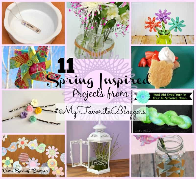 11 spring inspired projects from _MyFavoriteBloggers