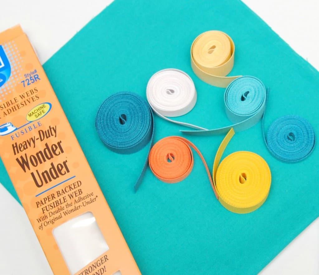 ribbon pillow supplies
