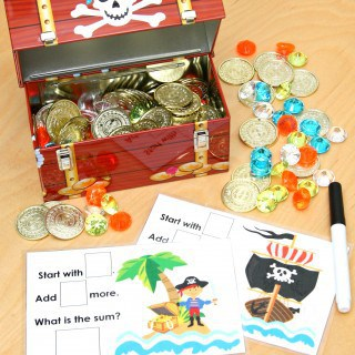 Pirate's Treasure Chest – Making Math Fun!