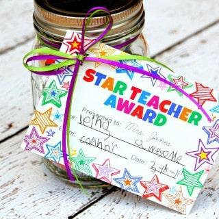 Teacher Gift in a Jar