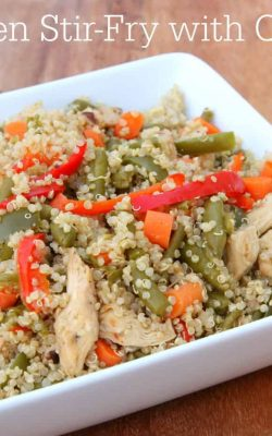 Chicken Stir Fry with Quinoa
