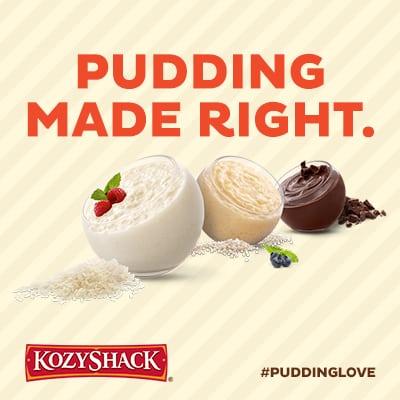 Pudding Parfait Kozy Shack Pudding #PuddingLove
