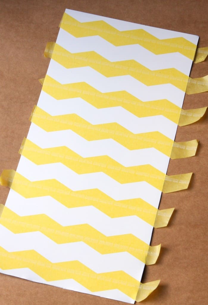 FrogTape Shape Tape Chevron Magnetic Board