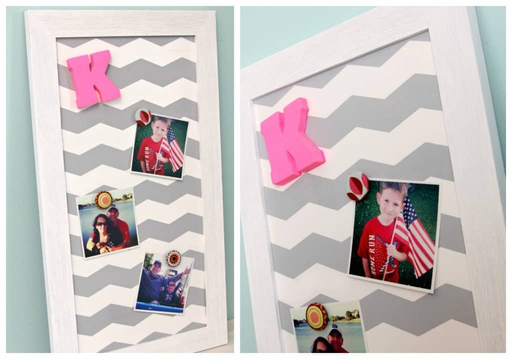 Chevron Magnetic Board
