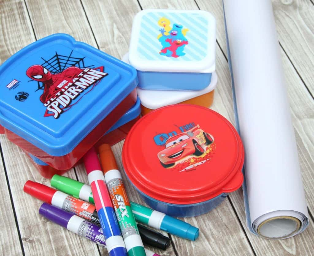 dry erase lunchbox notes materials