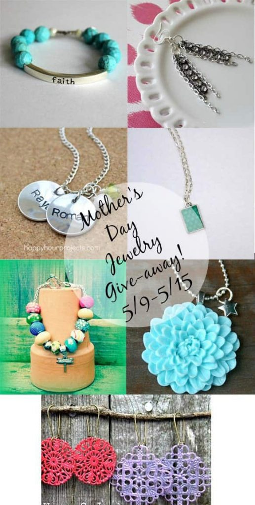 Mother's Day Jewelry Giveaway